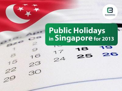 List of Singapore Public Holidays 2013