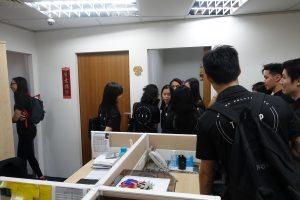 Company Visit for Nanyang Polytechnic Students