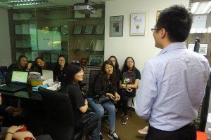 Company Visit for Nanyang Polytechnic