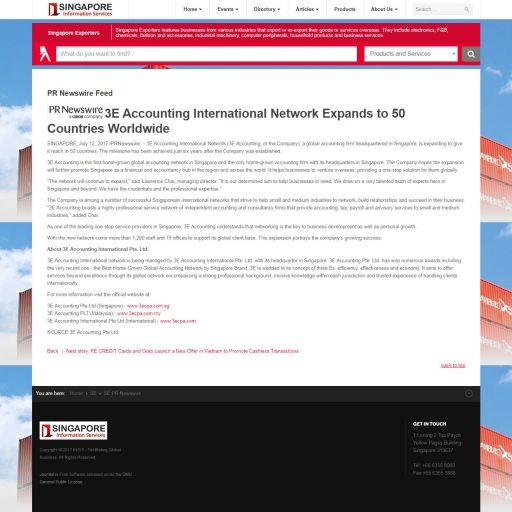 Singapore Information Services