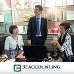 财政部高级政务部长杨莉明参观3E会计
