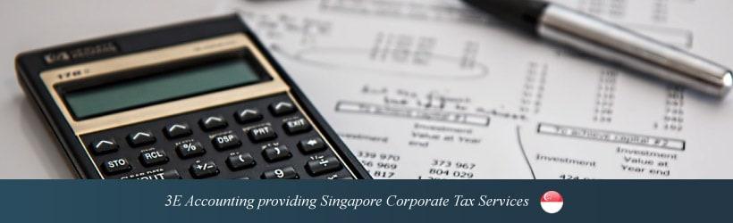 3E Accounting providing Singapore Corporate Tax Services