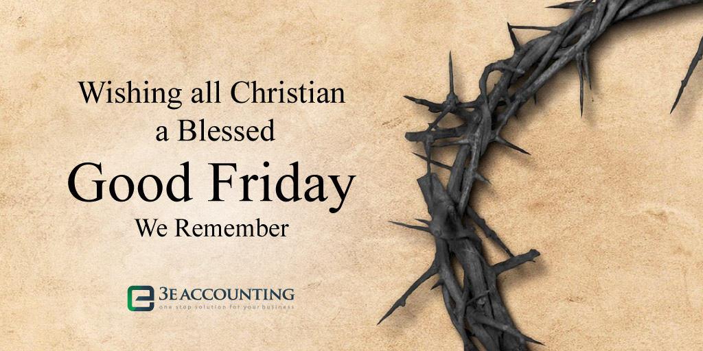 3E Holiday Greeting - Good Friday