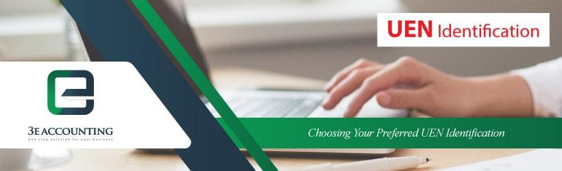 Choosing Your Preferred UEN Identification