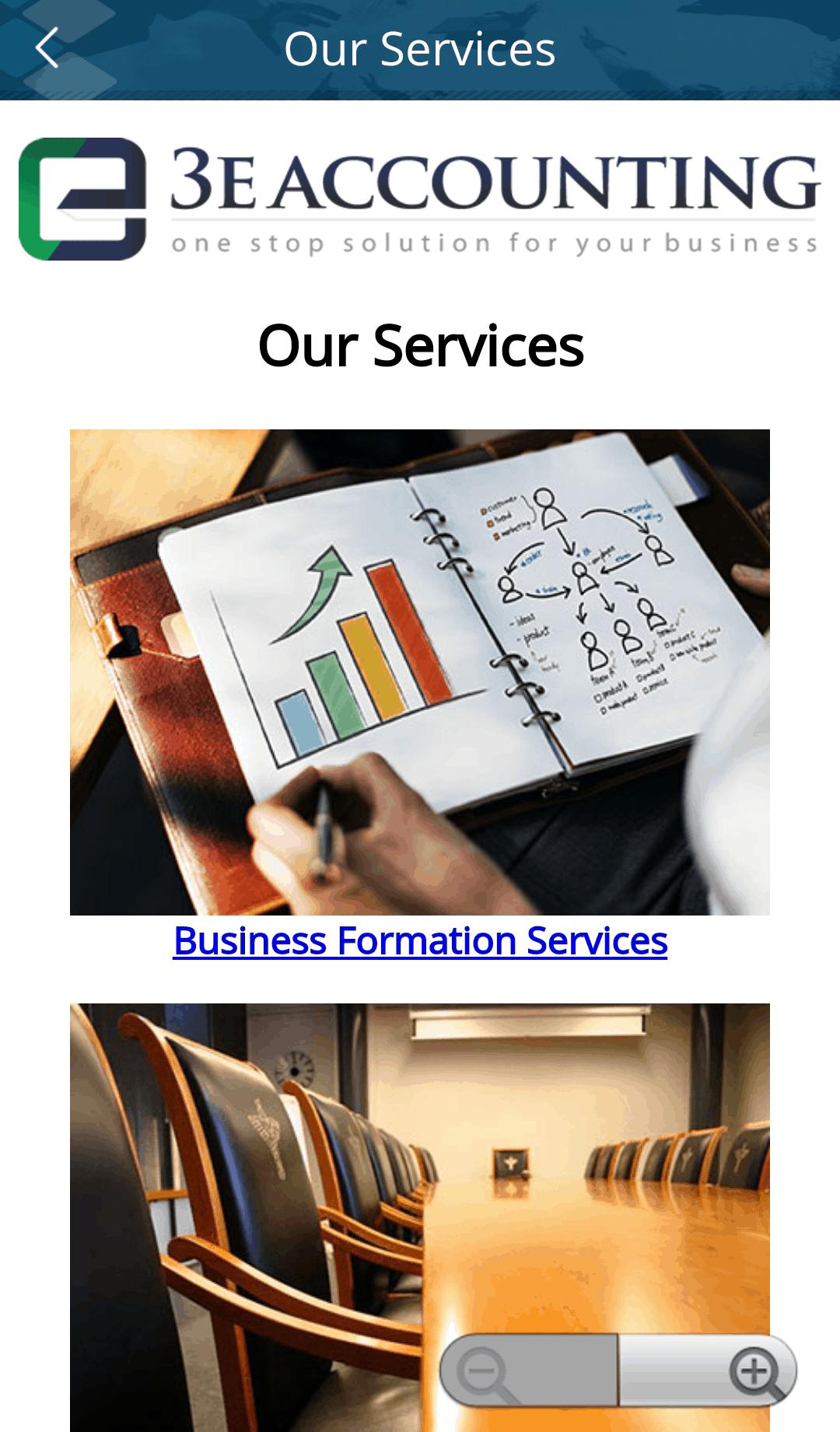 3E会计国际服务列表