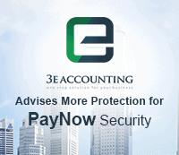 """3E会计提到新加坡跨银行转账服务""""PayNow""""获得更多保护"""