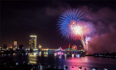 River Hongbao Celebrations normally held at the Marina Bay floating platform