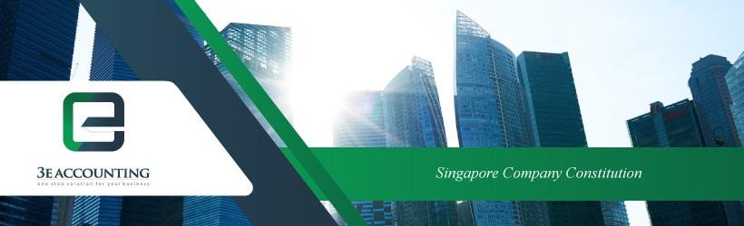 Singapore Company Constitution