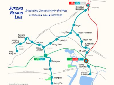 The Jurong Region Line