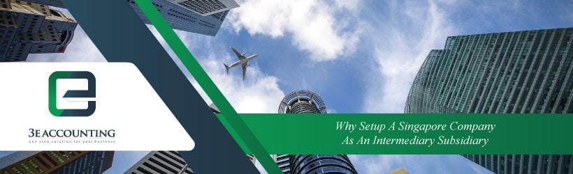 Why Setup A Singapore Company As An Intermediary Subsidiary