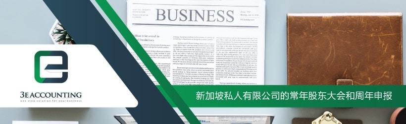 新加坡私人有限公司的常年股东大会和周年申报
