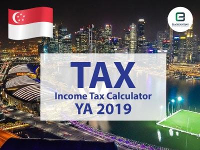 Singapore Corporate Income Tax Calculator for YA 2019