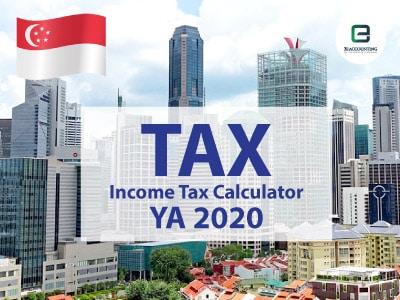 Singapore Corporate Income Tax Calculator for YA 2020