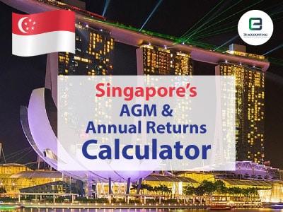 Singapore AGM And Annual Returns Calculator
