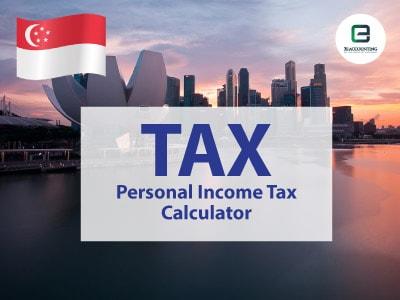 Singapore Personal Income Tax Calculator