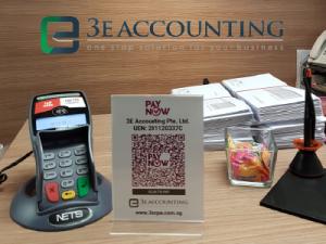3E Accounting实施了PayNow