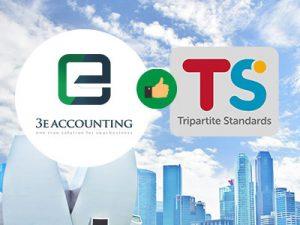 新加坡3E会计自豪地宣布,我们已于2019年3月采用了所有八项Tripartite Standards标准