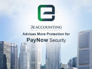 "3E会计很高兴在TODAY的报告中提到""急于取消支票和现金,已经注册PayNow的企业"""