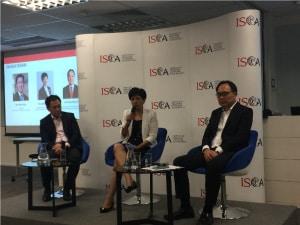 3E会计创始人蔡先生应邀参加了与会计部门的对话讨论了全球发展对新加坡的影响