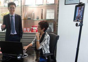 3E会计总部办公室有幸获新加坡外交部部长杨莉明(Josephine Teo)造访