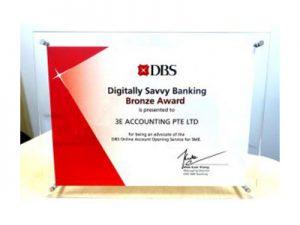 DBS Digitally Savvy Banking Bronze Award