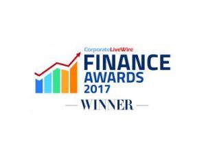 Corporate LiveWire Finance Awards Winner 2017