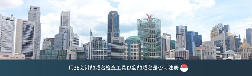 新加坡的域名检查