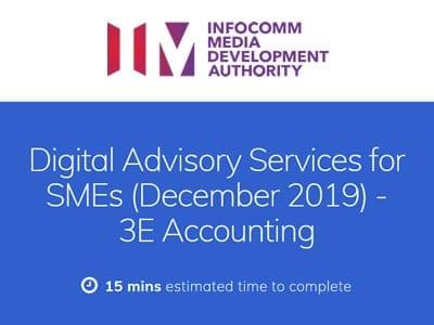 IMDA SMEs Go Digital Survey on Digital Advisor Services