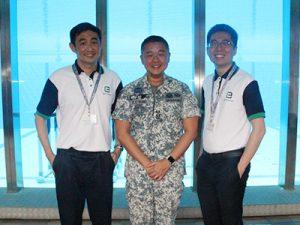 Employer Visit to SAF Naval Diving Unit NSmen ICT