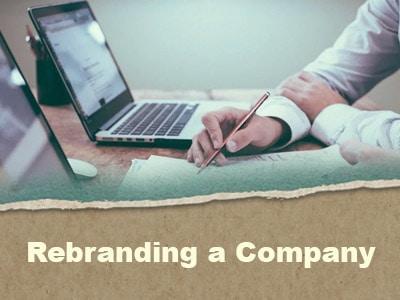 Rebranding a Company
