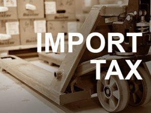 新加坡进口税 – 关税和应课税品