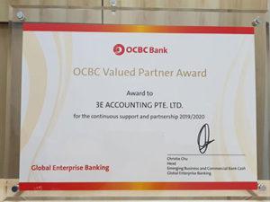 3E Accounting Achieves OCBC Valued Partner Award