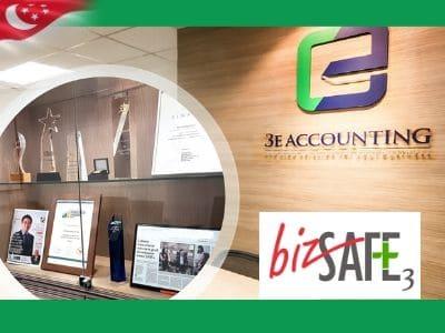 3E Accounting Singapore achieves bizSAFE Level 3 Certification
