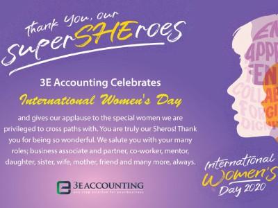 3E C.A.R.E.S. for International Women's Day 2020