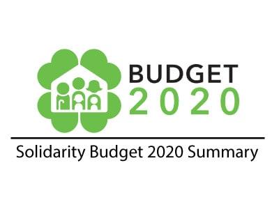 Solidarity Budget 2020 Summary