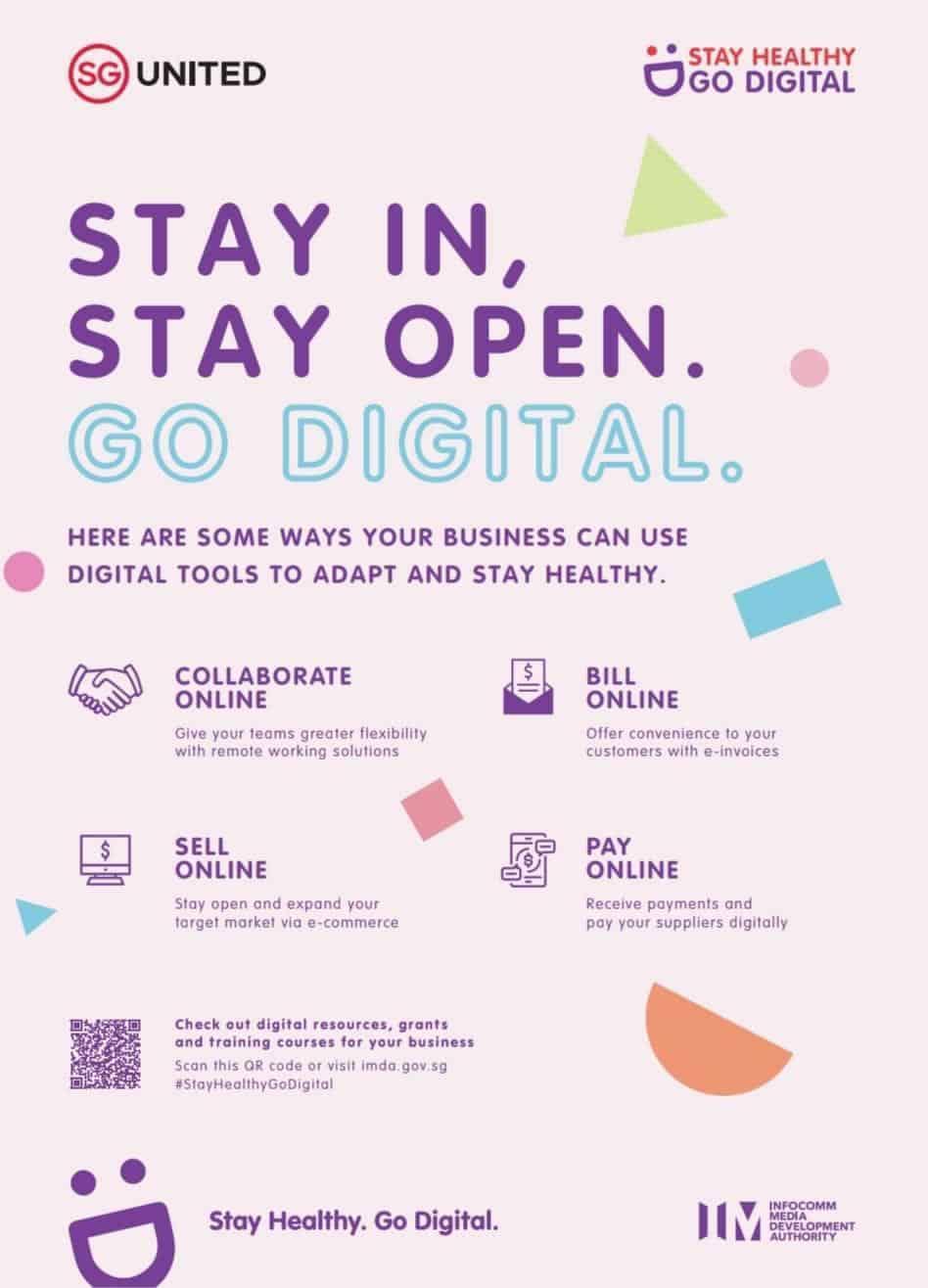 Stay In, Stay Open. Go Digital.