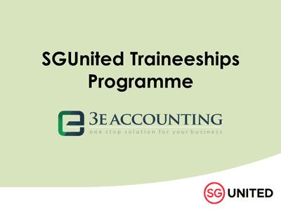 3E Accounting Participates in SGUnited Traineeship Programme