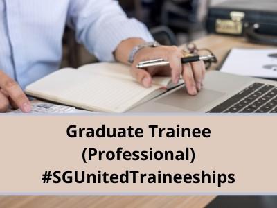 Graduate Trainee (Professional) #SGUnitedTraineeships