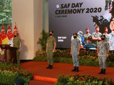 Observing SAF Day 2020 LIVE on MINDEFsg - 3E Accounting