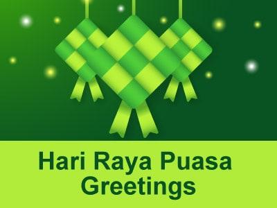 Hari Raya Puasa Greetings