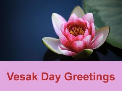 Vesak Day Greetings