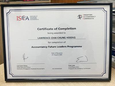 Virtual Graduation - Accountancy Future Leaders Programme