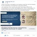 3E Accounting Founder Lawrence Speaks at CapBridge Wealth Management Webinar