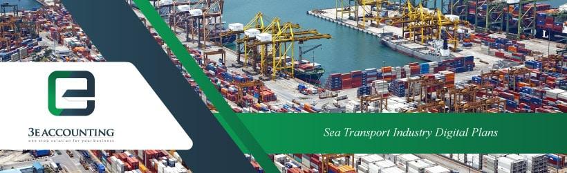 Sea Transport Industry Digital Plans